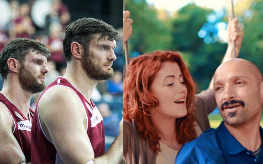 Kšištofas ir Darjušas Lavrinovičiai, Erica ir Jurgis Didžiuliai / Foto: Delfi ir iš asmeninio albumo