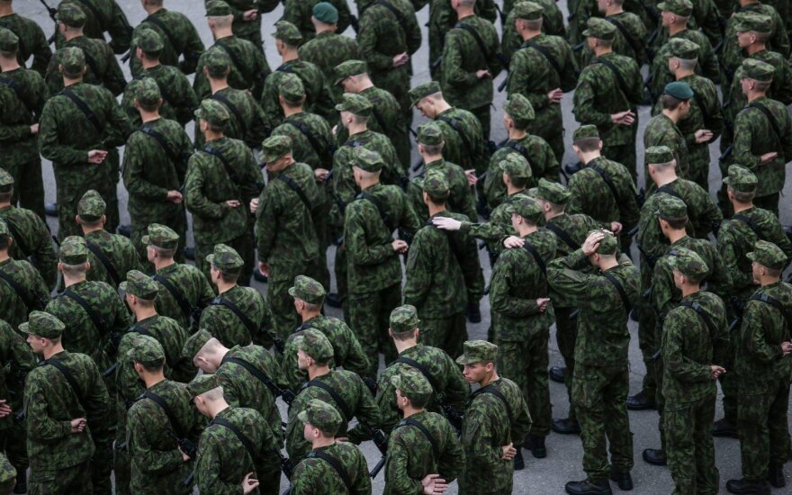 Czech troops joining NATO's multinational force in Lithuania