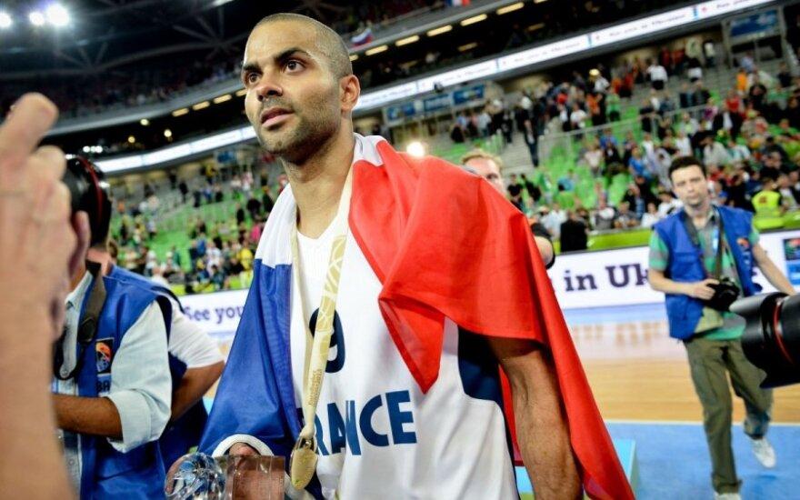 T. Parkeris padės prancūzams Europos čempionate