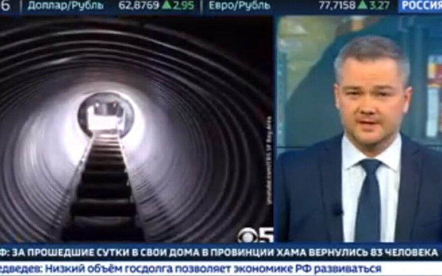 Per Rusijos TV – reportažas apie pasiruošimą gyventi karo sąlygomis