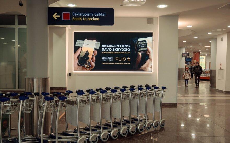 Reklama Lietuvos oro uostuose