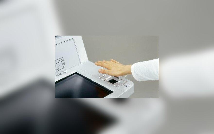 Biometrinis bankomatas