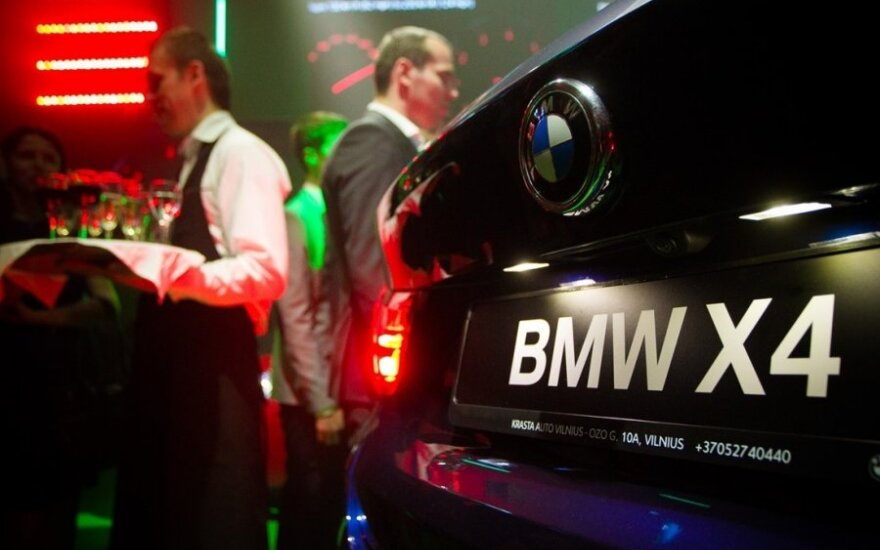 BMW X4 pristatymas