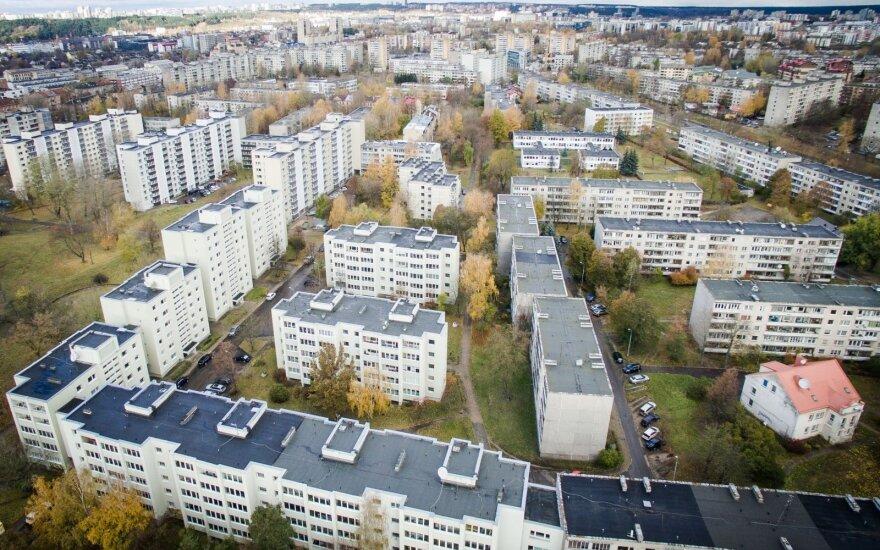 Lietuvoje būsto kainos augo sparčiau nei ES
