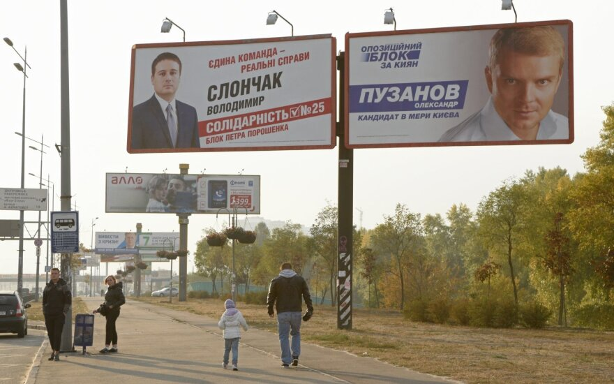 Local elections in Ukraine