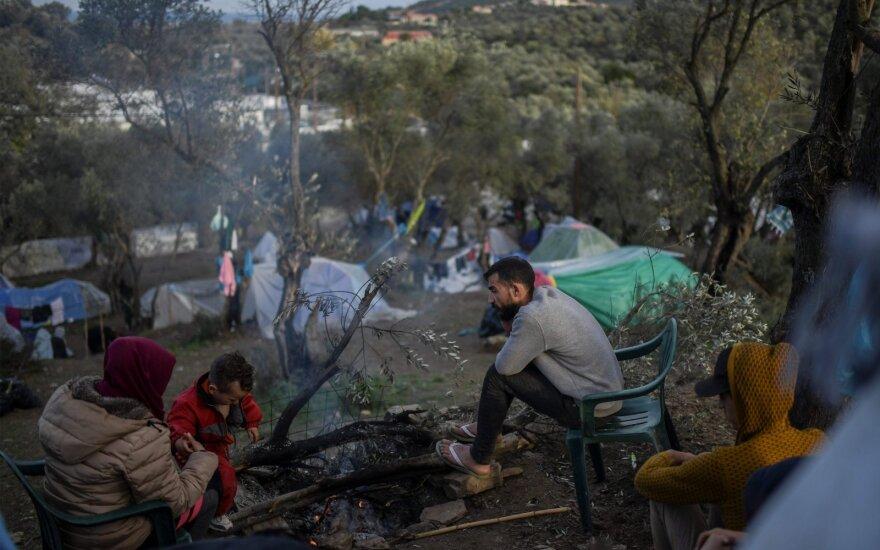 Pabėgėlių stovykla Lesbo saloje