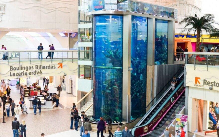 """Prekybos centro """"Mega"""" akvariumas"""