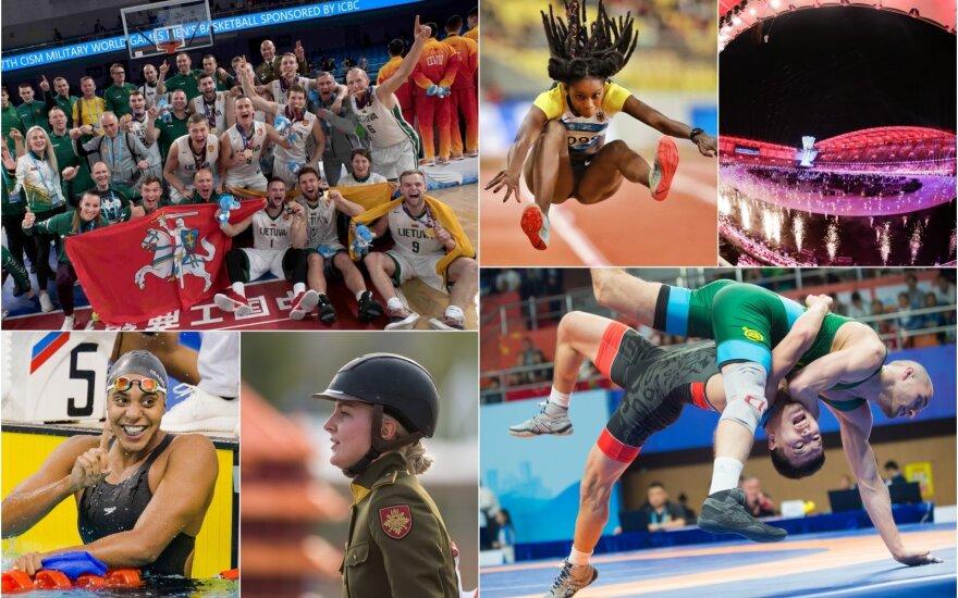 Įspūdingiausios pasaulio kariškių žaidynių akimirkos / FOTO: Alfredas Pliadis, CISM