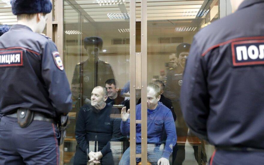 Pagrobti ukrainiečių jūreiviai