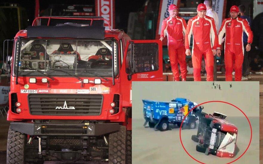 Sergejus Viazovičius ir komanda 2019 Dakaro ralyje