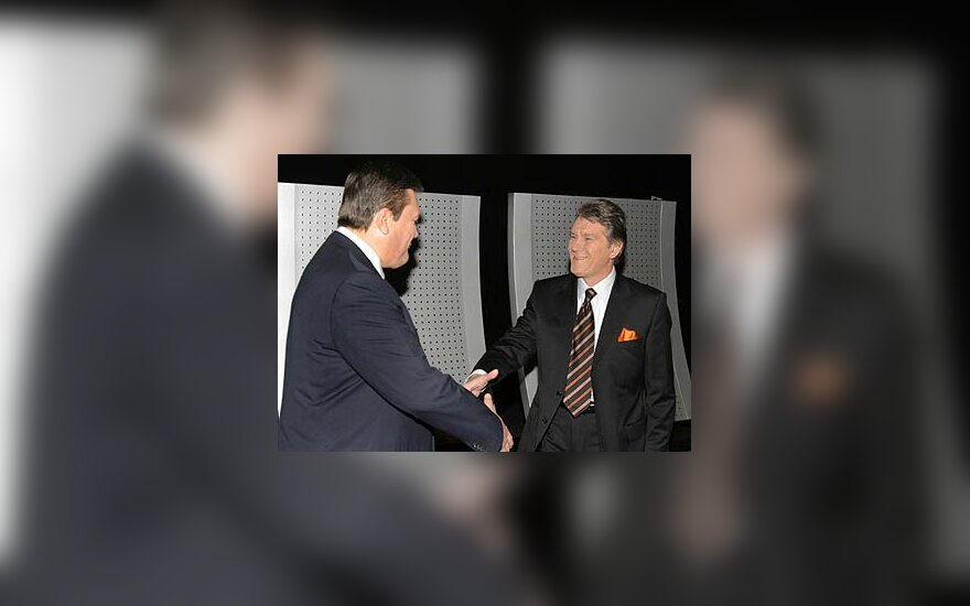 Viktoras Janukovičius ir Viktoras Juščenko