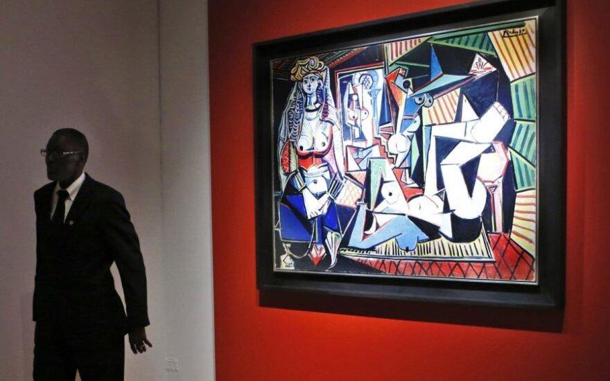 """""""Christie's"""" aukcione parduotas P. Picasso darbas """"Alžyro moterys"""""""