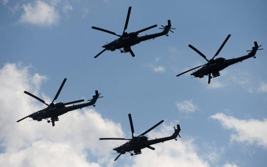 Prie Ukrainos sienos – Rusijos kariniai lėktuvai