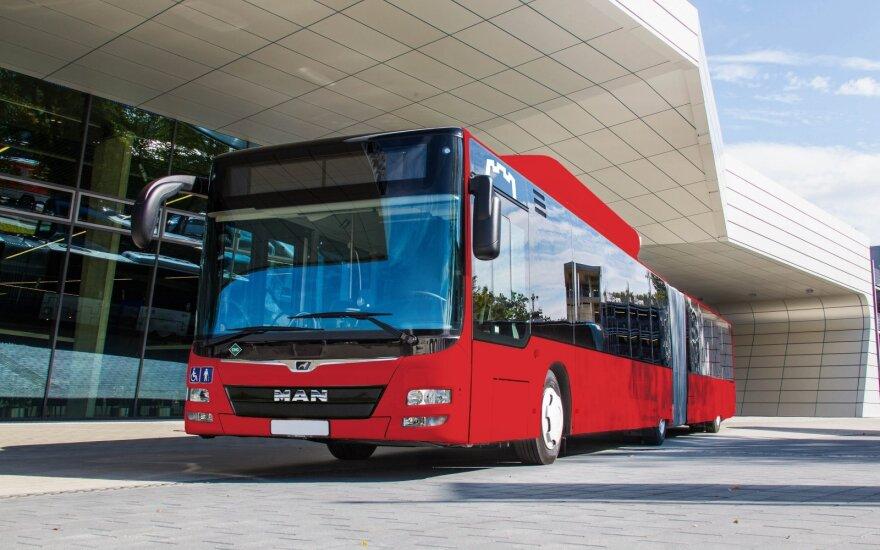 Naujas Vilniaus autobusas