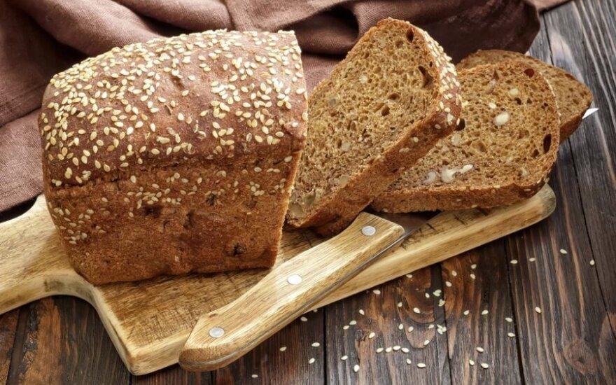 Duona su sojų daigais