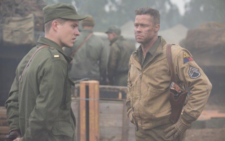 """Bradas Pittas filme """"Įniršis"""""""