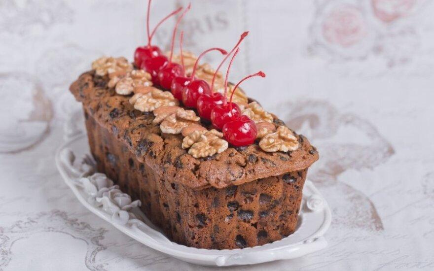 """Tradicinis vokiškas kalėdinis pyragas """"Stollen"""""""