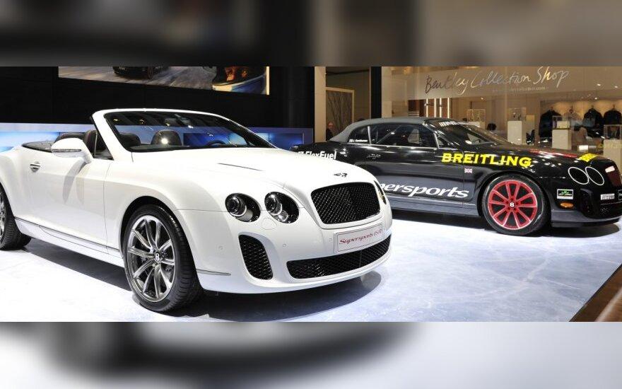 """Kas ketvirtas """"Bentley"""" parduodamas Kinijoje"""