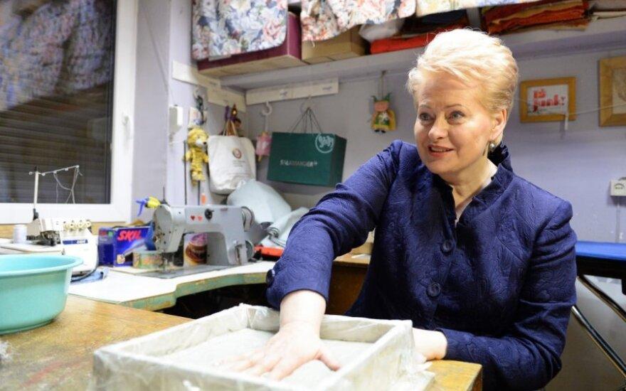 D. Grybauskaitė prašo pinigų