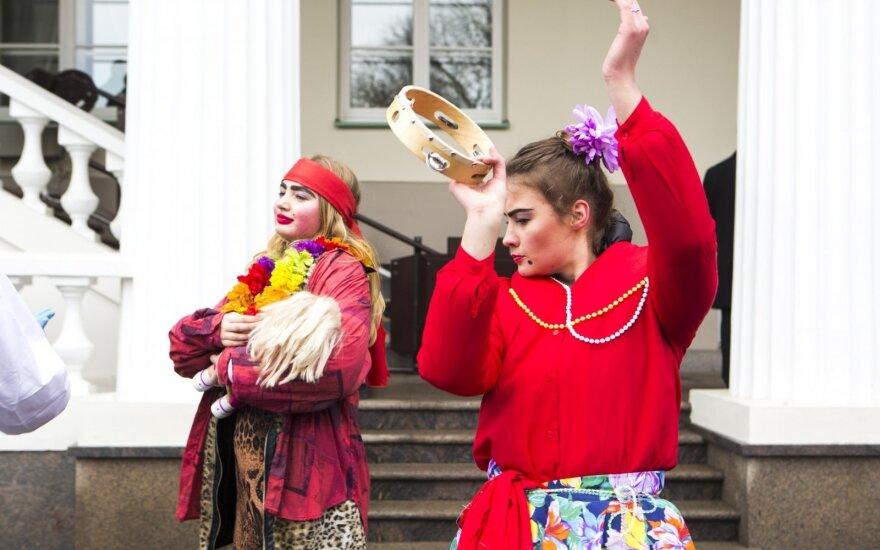 Lithuania celebrates Mardi Gras