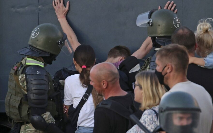 Sinkevičius: matome tokių kvietimų, kad greičiausiai reikės labai griežto atsako Baltarusijai