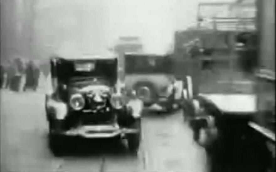Seniausias vaizdo įrašas automobiliu