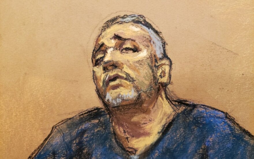 "Prieš ""El Chapo"" liudijantis Alexas Cifuentesas"