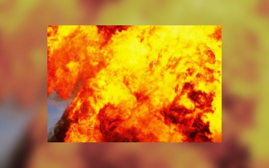 Vyras sudegė savo namuose Vilniaus r.