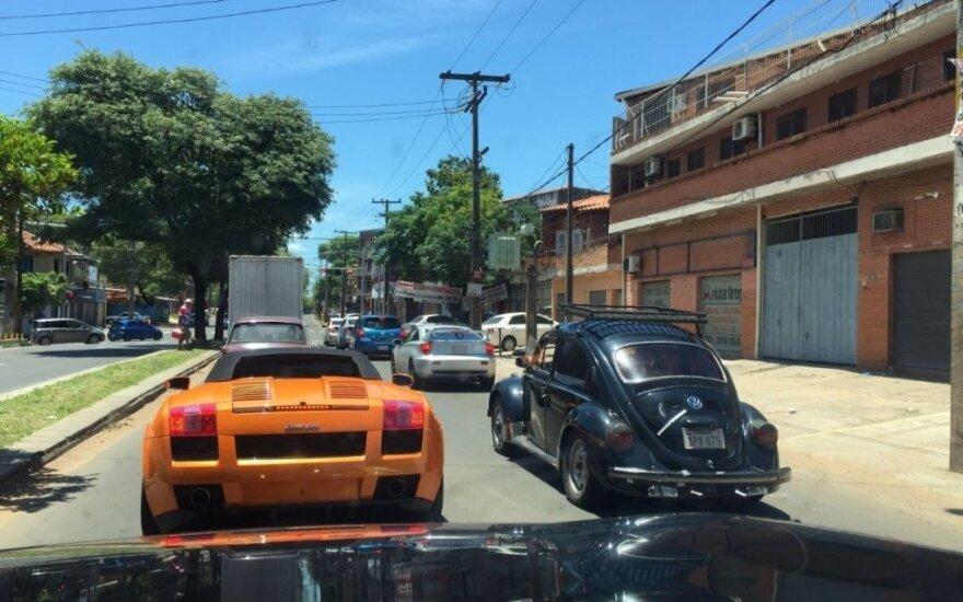 Vaizdai iš Paragvajaus sostinės Asunsjono