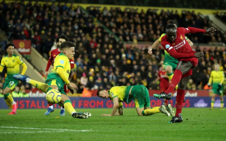 """Anglijoje – jau 25-a """"Liverpool"""" pergalė iš 26 galimų"""