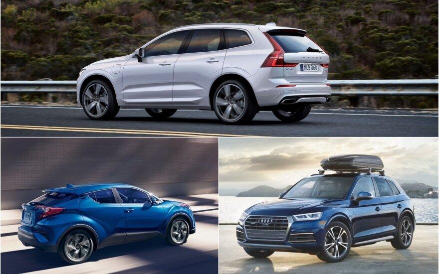 """""""Volvo XC60""""/""""Toyota C-HR""""/""""Audi Q5"""""""