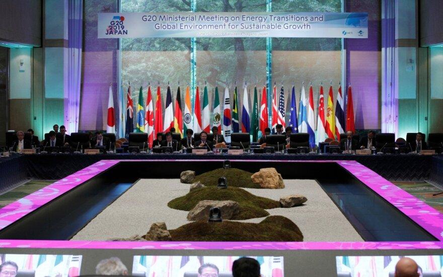 Japonijoje rengiamas G20 viršūnių susitikimas
