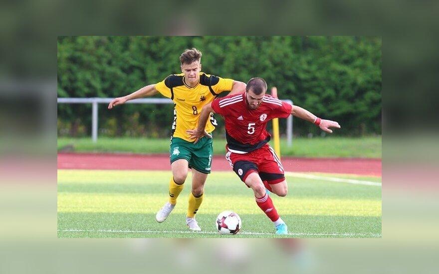 Atrankoje į Europos čempionatą – pirmasis Lietuvos jaunimo rinktinės taškas