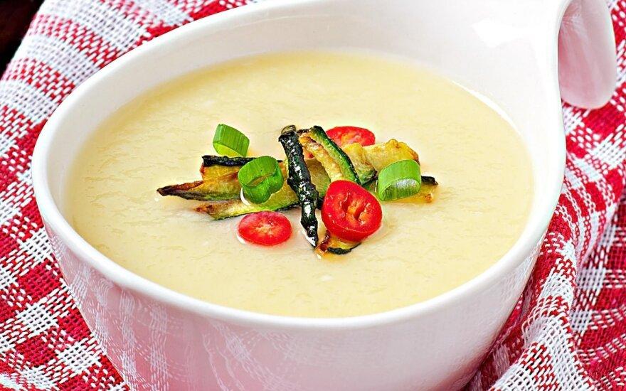 Česnakinė trinta sriuba