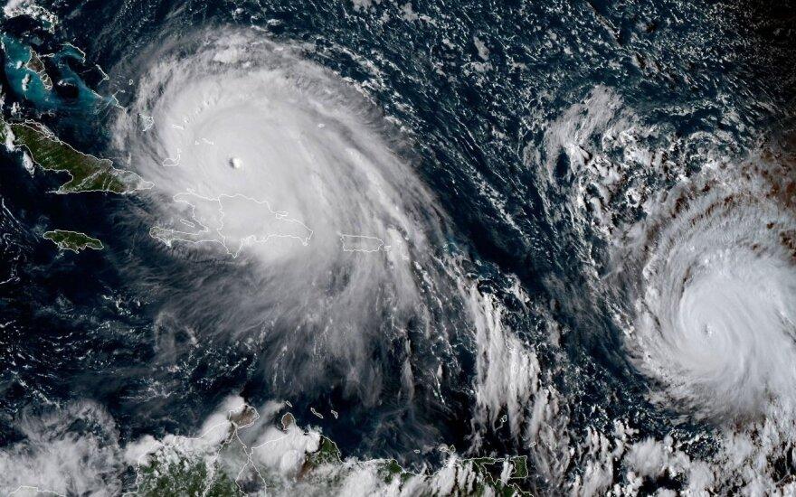 """Uraganai """"Irma"""" ir """"Jose"""""""