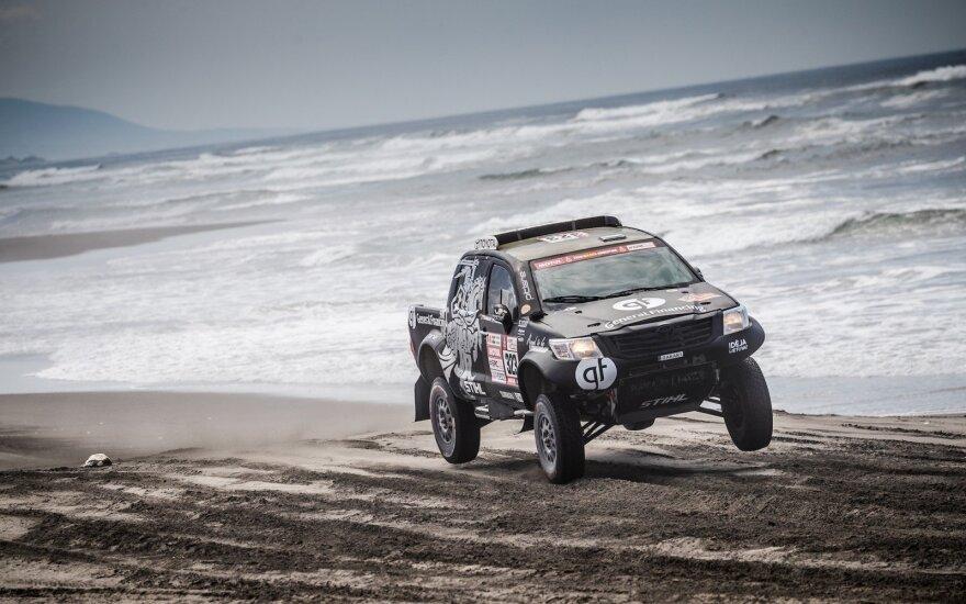 Ketvirtasis Dakaro etapas Vanagui – pagal geriausius siaubo filmų scenarijus