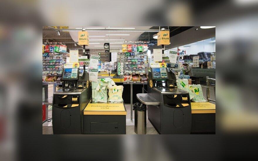 """Plastikinių maišelių pardavimas """"Iki"""" tinklo parduotuvėse pernai mažėjo trečdaliu"""