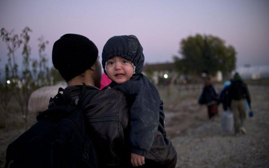 Pabėgėliams planuojamas 30 proc. didesnis mokinio krepšelis