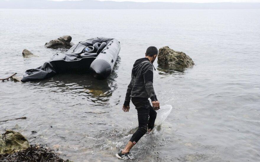 Graikija uždarė migrantų stovyklą, kurioje užregistruota daug COVID-19 atvejų