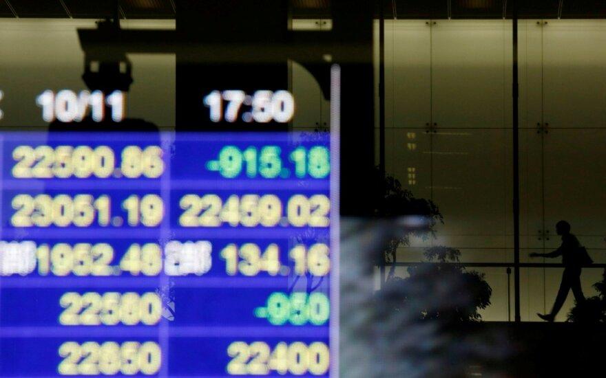 """""""Biržos laikmatis"""": investuotojus nudžiugino geri JAV pramonės sektoriaus duomenys"""