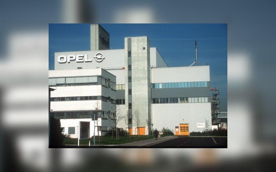 Opel gamykla