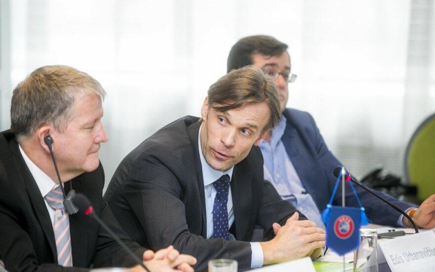 Urs Kluser ir Edis Urbanavičius