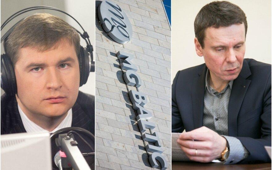 Tomas Dapkus and Raimondas Kurlianskis