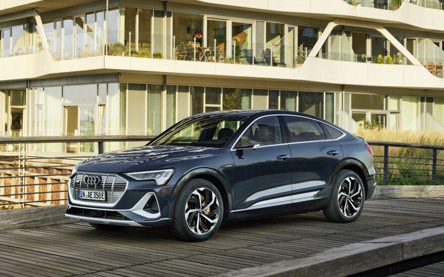 "Pristatytas naujasis ""Audi e-tron Sportback"""