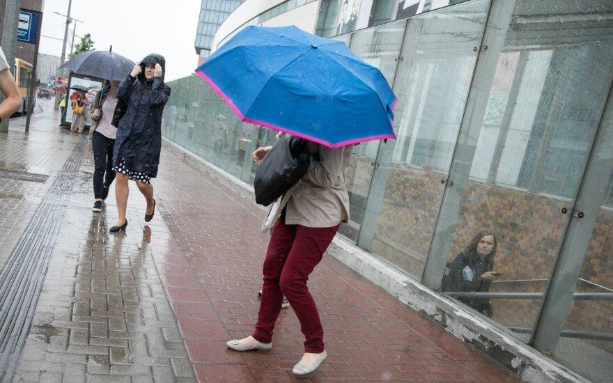Perspėjama: Lietuvoje siaus stiprus vėjas