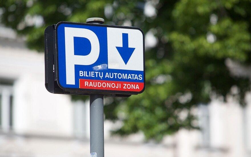 Vilniaus centre brangs automobilių stovėjimas