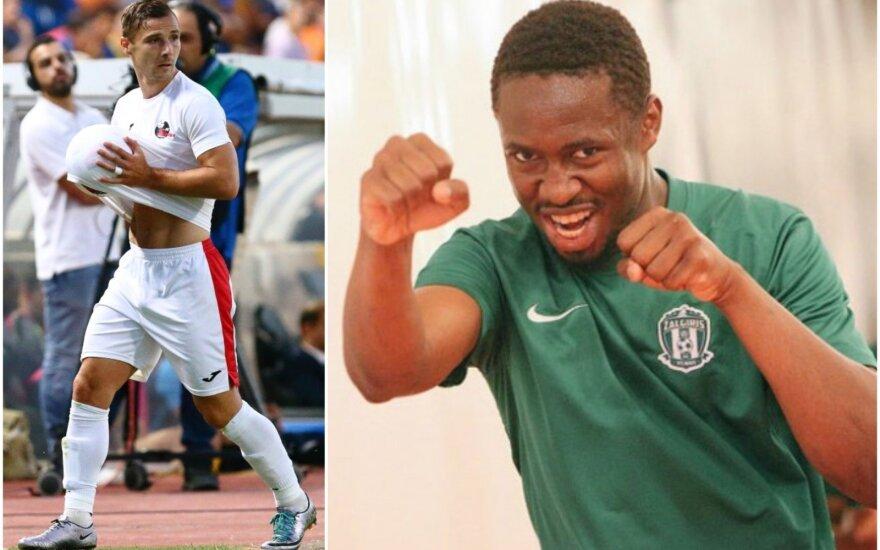Andro Švrljuga (kairėje), Mamadou Mbodjis