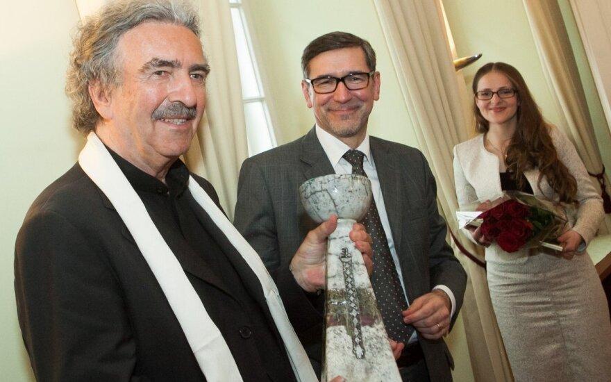 M.K.Čiurlionis Foundation awards presented at Austrian Embassy