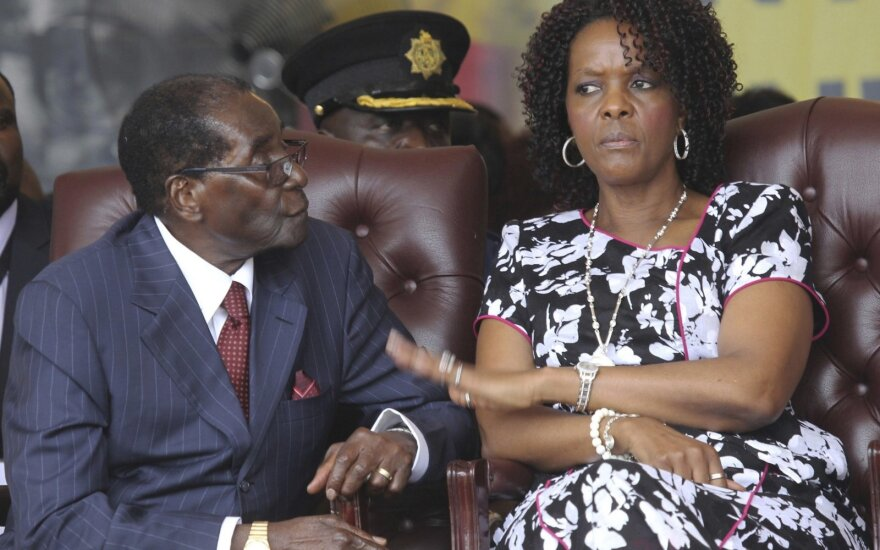 Robertas Mugabe, Grace Mugabe