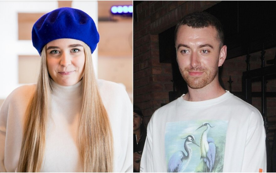 Monika Marija ir Sam Smith